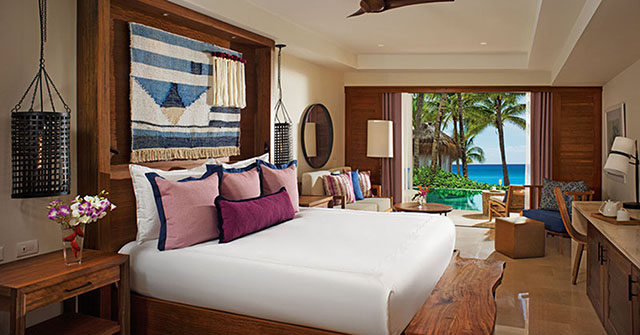 Secrets Cap Cana Resort & Spa Deluxe Junior Suite Swim-out