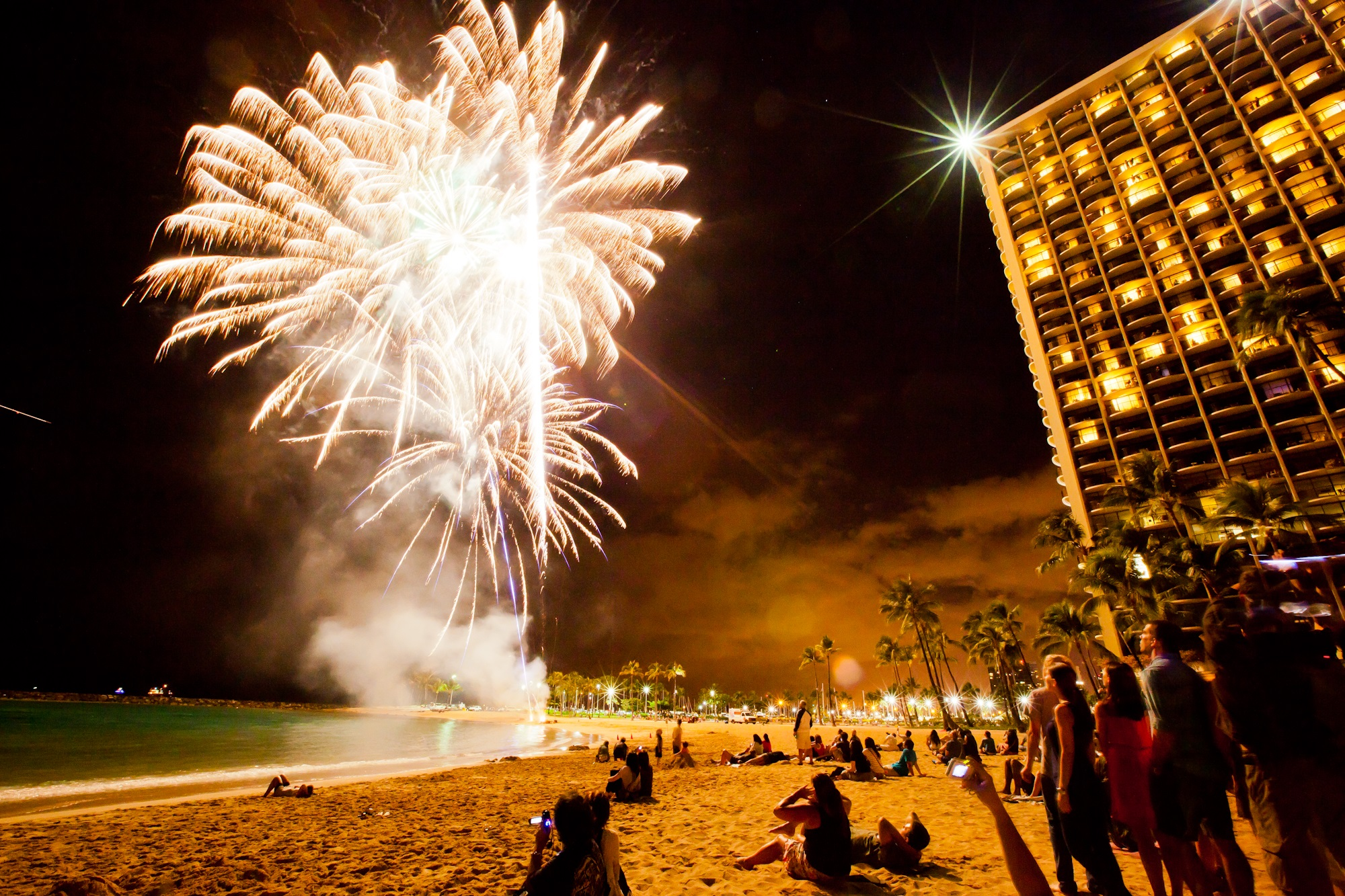 Friday Night Fireworks Hilton Hawaiian Village