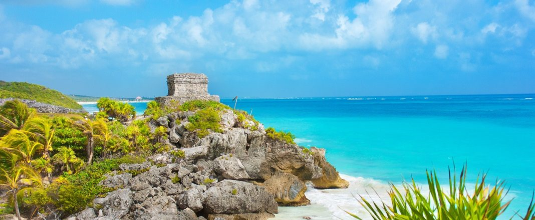Mayan Ruin and the Beach of Tulum